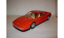 модель 1/18 Ferrari Testarossa 1984 Burago металл 1:18