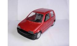 модель 1/24 FIAT Cinquecento Burago Made in ITALY металл 1:24, масштабная модель, scale24