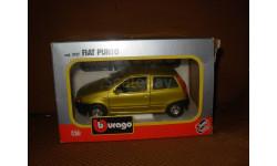модель 1/24 Fiat Punto Burago Made in ITALY металл 1:24, масштабная модель