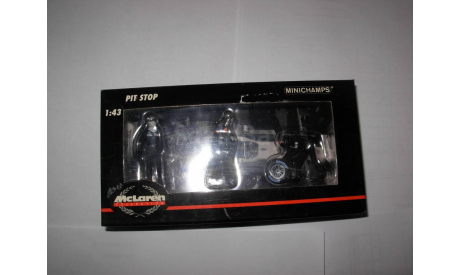 модель 1/43 F1 Formula/Формула-1 фигурки Pit Stop McLaren Minichamps /PMA металл 1:43, фигурка, scale43
