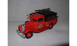 модель 1/43 пожарный пикап Ford 1932 Washington с тентом Eligor France металл Форд 1:43, масштабная модель, scale43