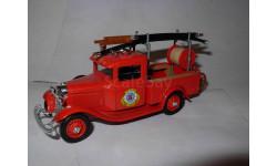 модель 1/43 пожарный пикап Ford 1932 Washington Eligor France металл Форд 1:43, масштабная модель, scale43