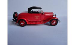 модель  1/43 пожарный штабной Ford 1932 Eligor France металл, масштабная модель, 1:43