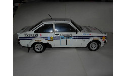 Модель 1/18 Ford Escort Mk-II RS 1800 Rally Rallie Sun Star 1:18