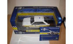 модель 1/18 полицейский Ford Escort XR3i Police Cambridgeshire Constabulary Model Icons 1:18 полиция