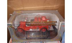 модель 1/32-1/43 пожарый Ford model T 1926 fire truck Signature Models металл пожарная 1:43- 1:32, масштабная модель, scale32