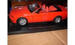 модель 1/18 Ford Mustang 2006 GT Cabriolet/Convertible AUTO ART металл Форд 1:18