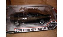модель 1/18 Ford Mustang 2010 GT GREENLIGHT металл 1:18, масштабная модель, Greenlight Collectibles