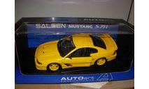 модель 1/18 Ford Mustang Saleen S351 Coupe AUTO ART металл Форд 1:18 AutoArt, масштабная модель, scale18