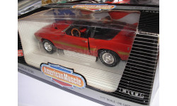 модель 1/18 Ford Mustang Shelby GT500 1969 convertible American Muscle ERTL металл