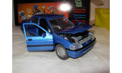модель 1/24 Ford Orion Ghia Schabak металл 1:24 синий