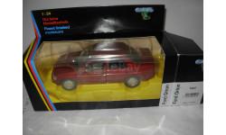модель 1/24 Ford Orion Ghia Schabak металл 1:24 красный