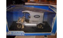 модель 1/18 Ford T фургон Universal Hobbies металл 1:18, масштабная модель, scale18