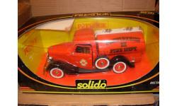 модель 1/19 Ford V8 пожарная цистерна 'Providence Fire Dept' Solido металл пожарная не 1:18, масштабная модель, 1/18