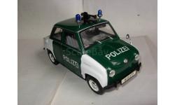 модель 1/18 Goggomobil Polizei/полиция Revell металл, масштабная модель, 1:18