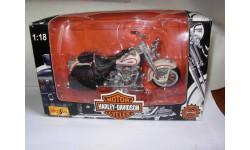 1/18 модель мотоцикл Harley Davidson 1997 FLSTS Hertitage Springer Maisto металл, масштабная модель мотоцикла, 1:18, Harley-Davidson