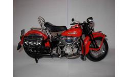 1/10 модель мотоцикл Harley Davidson Panhead Road Rally Franklin Mint металл Харлей