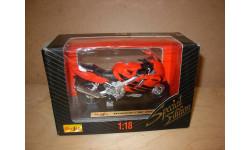 1/18 модель мотоцикл Honda CBR 600F4 Maisto металл 1:18, масштабная модель мотоцикла