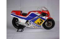 модель 1/12 гоночный мотоцикл HONDA - NS500 N 3 500cc 1984 R.MAMOLA Altaya металл 1:12, масштабная модель мотоцикла