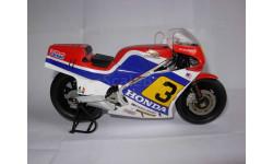 модель 1/12 гоночный мотоцикл HONDA - NS500 N 3 500cc 1984 R.MAMOLA Altaya металл 1:12
