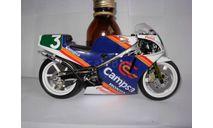 модель 1/12 гоночный мотоцикл HONDA NSR 250cc GP 1988 Sito Pons #3  Altaya металл 1:12, масштабная модель мотоцикла