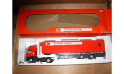 модель 1/43 Iveco Ferrari Old Cars транспортёр тягач+трейлер Transporter-trailer 1:43