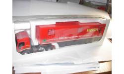 модель 1/43 Iveco Ferrari Eligor транспортёр тягач+трейлер Transporter-trailer 1:43, масштабная модель