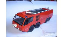 1/43 модель аэродромный пожарный автомобиль IVECO MAGIRUS SUPER DRAGON X8 SCHUCO металл пожарная 1:43, масштабная модель, Cursor