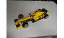 модель F1 Формулы 1 1/18 Jordan Ford EJ14 2004 N. Heidfeld Mattel/Hot Wheels металл