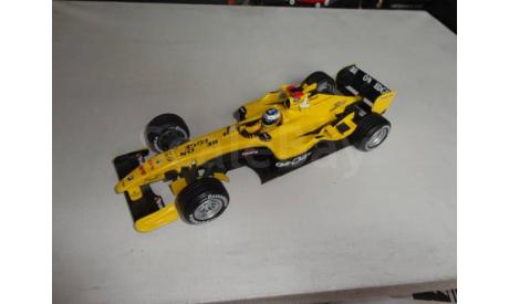 модель F1 Формулы 1 1/18 Jordan Ford EJ14 2004 N. Heidfeld Mattel/Hot Wheels металл, масштабная модель, 1:18, Mattel Hot Wheels