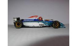 модель 1/43 F1 Formula/Формула-1 Jordan Peugeot 195 1995 №15 Eddie Irvine Minichamps /PMA металл 1:43, масштабная модель