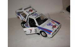 модель 1/24 Lancia Delta S4 Rally Monte-Carlo 1986 №7 Toivonen  Cresto Burago Italy металл 1:24 Rallye
