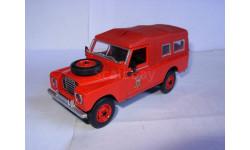 модель  1/43 пожарый LandRover 1971 DelPrado металл