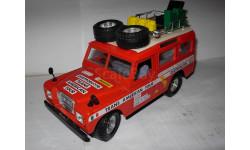 модель 1/24 Landrover Burago Made in ITALY металл, масштабная модель, Land Rover, scale24