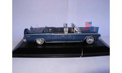 модель 1/43 Lincoln Continental Limousine SS-100-X J.F.KENNEDY Norev/Atlas металл без коробки 1:43, масштабная модель, scale43