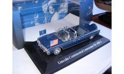 модель 1/43 Lincoln Continental Limousine SS-100-X J.F.KENNEDY Norev/Atlas металл 1:43, масштабная модель