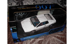 модель 1/18 Lotus Esprit type 79 James Bond 007 Auto Art металл, масштабная модель, 1:18, Autoart