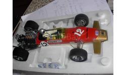 гоночная модель формула-1 F1 1/18 Lotus Type 49B 1968  #12 Mario Andretti,- pole-position U.S. Grand Prix Exoto металл, масштабная модель, 1:18