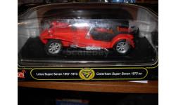 модель 1/18 Lotus Caterham Super 7 Seven Anson металл, масштабная модель, 1:18