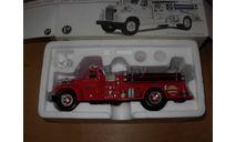 модель 1/34 pumper/пожарный автонасос Mack B 1960 Newark First Gear металл 1:34, масштабная модель, scale32