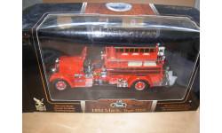 модель 1/24 пожарный Mack Type 75BX 1935 Yatming / Signature Series металл пожарная 1:24
