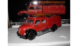 модель 1/43 пожарный Magirus Deutz Mercur TLF 16 1959 Minichamps металл пожарная 1:43