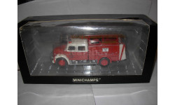 модель 1/43 пожарный Magirus Deutz Mercur TLF 16 Dortmund Minichamps Limited  металл пожарная 1:43