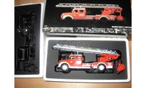 модель  1/43 пожарная автолестница Magirus Deutz S6500 DL30 Bombeiros Albufiera Minichamps металл в коробке 1:43 пожарный, масштабная модель, scale43, Magirus-Deutz