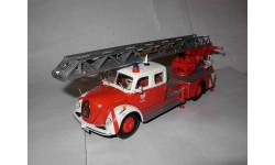 модель  1/43 пожарная автолестница Magirus Deutz S6500 DL30 Frankfurt Minichamps металл 1:43, масштабная модель, Magirus-Deutz