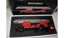 модель  1/43 пожарная автолестница Magirus Deutz S6500 DL30 Ulm Minichamps Limited металл в коробке 1:43 пожарный, масштабная модель, Magirus-Deutz, scale43