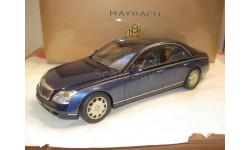 модель 1/18 Maybach 57 Auto-Art Dealer металл 1:18