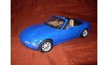 модель 1/18 Mazda MX5 Miata первого поколения 1989 Gate/ранний Autoart металл 1:18, масштабная модель