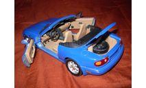 модель 1/18 Mazda MX5 Miata первого поколения 1989 Gate/ранний Autoart металл 1:18, масштабная модель, scale18