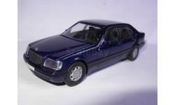 модель 1/43 Mercedes Benz MB S600 W140 Кабан Мерин Мерседес CEF France металл